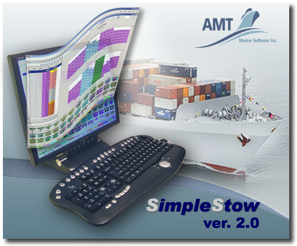 Splash screen of SimpleStow container stowage planning software
